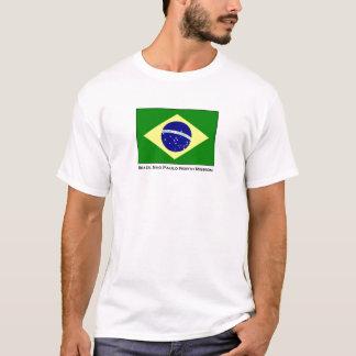 T-shirt norte da missão de Brasil Sao Paulo LDS Camiseta