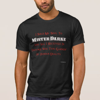 T-shirt NOVO do molde do carnaval de Darke - MOLDE