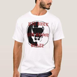 T-shirt NOVO do SANGUE do PITBULL BEATZ Camiseta