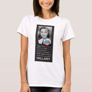 T-shirt novo original da foto de Hillary Camiseta
