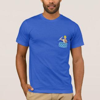 T-shirt oficial dos deuses dos gráficos camiseta
