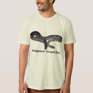 T-shirt orgânico da boa à terra de Madagascar