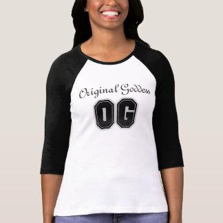 T-shirt original da deusa de OG