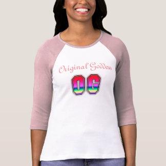 T-shirt original da deusa de OG Camiseta
