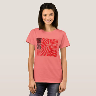T-shirt original do safari e da África com zebra Camiseta