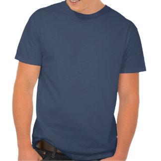 T-shirt patriótico da estrela do vintage do corpo