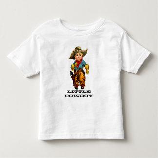T-shirt pequeno da criança do vaqueiro
