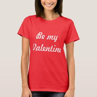 T-shirt perfeito do dia dos namorados camiseta