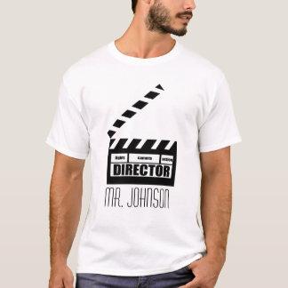 T-shirt personalizado do presente do diretor de camiseta