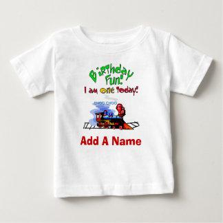 T-shirt personalizado do primeiro aniversario do camiseta para bebê