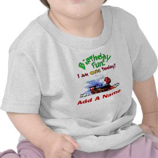 T-shirt personalizado do primeiro aniversario do t