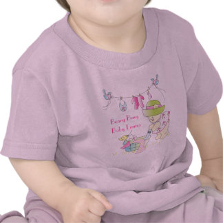 T-shirt personalizado ocupado do bebê de Beary