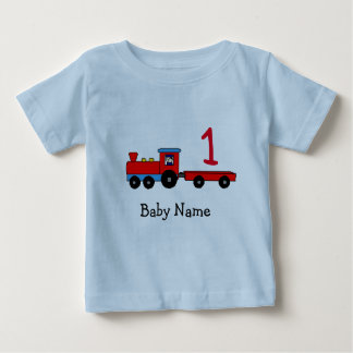 T-shirt personalizado primeiro aniversario do trem