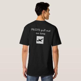 T-shirt piloto do avião camiseta