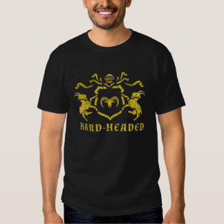 T-shirt pouco sentimental heráldico