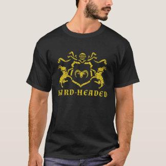 T-shirt pouco sentimental heráldico camiseta