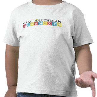 T-shirt pré-escolar da criança do Lutheran da bene