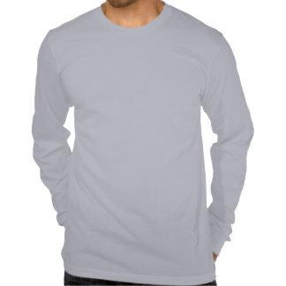 T-shirt preto & branco da arte Starring da alpaca