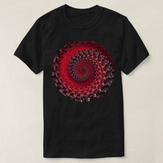T-shirt preto com origem da vida camiseta
