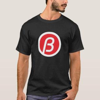 """""""T-shirt preto do B"""" Camiseta"""