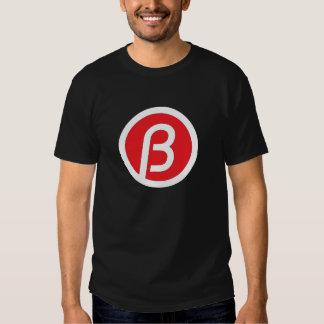 """T-shirt preto do B"" T-shirts"