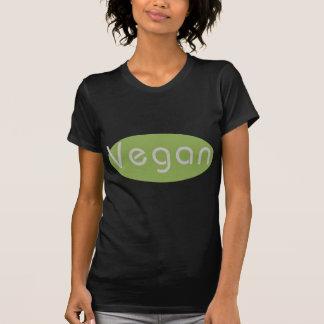 T-shirt preto do Vegan