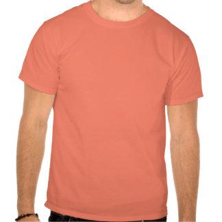 T-shirt preto e branco do desenho gráfico do