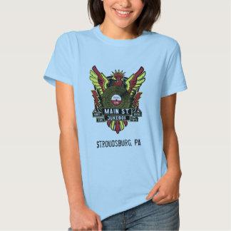T-shirt principal das meninas do jukebox do St.