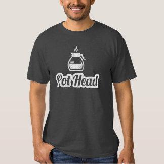 T-shirt principal do café do pote