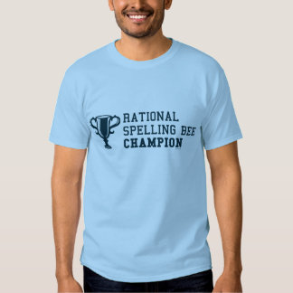 T-shirt racional do campeão do concurso de