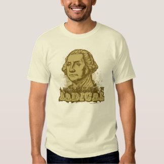 T-shirt radical americano de George Washington