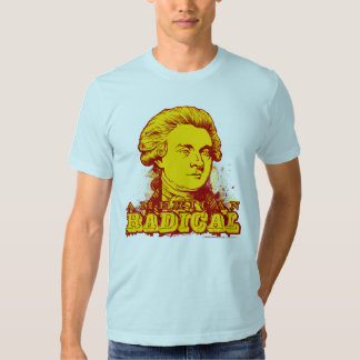 T-shirt radical americano de Thomas Jefferson