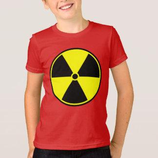 T-shirt radioativo da juventude camiseta