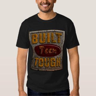 T-shirt resistentes adolescentes construídos