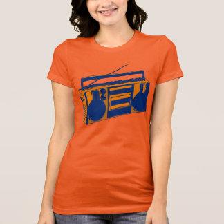 t-shirt retro de Boombox dos anos 80 Camiseta