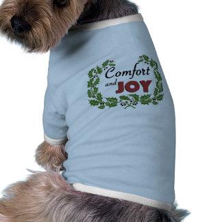 T-shirt retro do feriado do cão