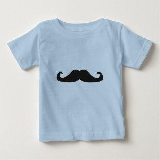 T-shirt retro dos hipsteres dos bigodes do