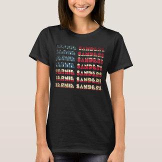 T-shirt retros da bandeira | dos EUA do camiseta
