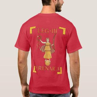 T-shirt romano de 3 Legio III Cyrenaica Vexillum Camiseta