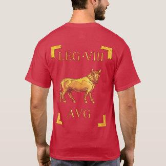 T-shirt romano de 8 Legio VIII OctaviaAugusta Camiseta