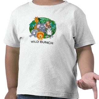 T-shirt SELVAGEM do safari do GRUPO