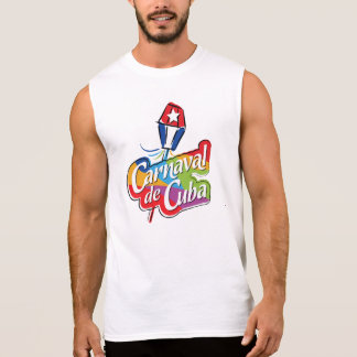 T-shirt sem mangas de Carnaval de Cuba