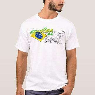 T-shirt sem mangas de Que Tem Firmeza Camiseta