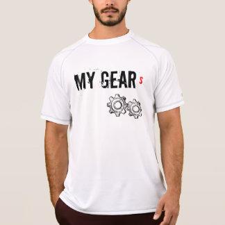 T-shirt sem mangas do feltro de lubrificação do