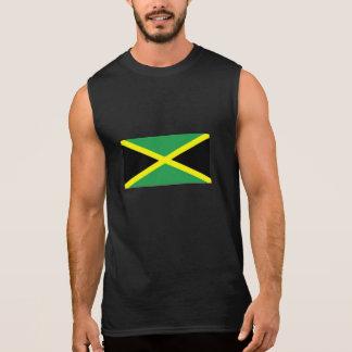 T-shirt sem mangas do Jamaica dos homens