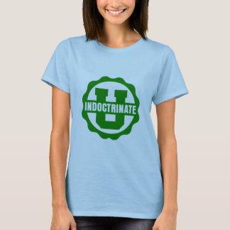 T-shirt simples do logotipo da boneca do Lilac das Camiseta