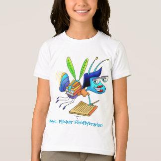 T-shirt - Sra. Cintilação Fireflybrarian Camiseta