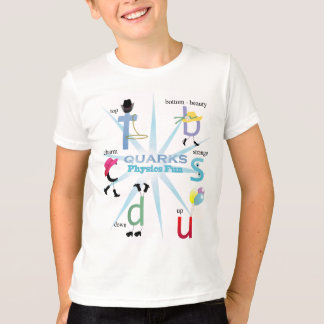 T-shirt subtil dos Quarks Camiseta