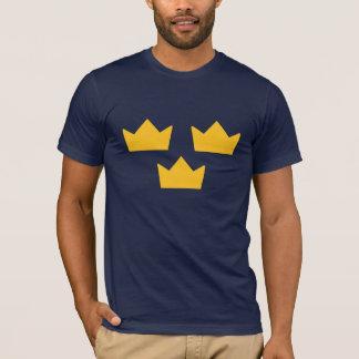 T-shirt sueco do hóquei camiseta