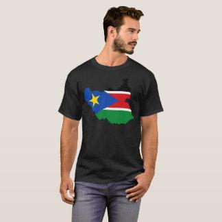 T-shirt sul da nação de Sudão Camiseta